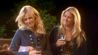 Snobby blonde private school moms Marly (Tricia O'Kelley) and Lindsay (Alex Kapp Horner) offer recurring dismissal of Christine and her family.
