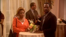 Barb (Wanda Sykes) and Daniel (Blair Underwood) realize they don't much care for each other's company while awaiting a delayed Christine.