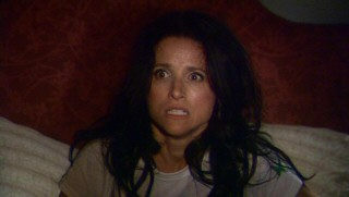 Worrisome Old Christine (Julia Louis-Dreyfus) wakes up from a troublingly incestuous dream within a dream.