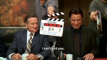 The bloopers reel shows us some of the 