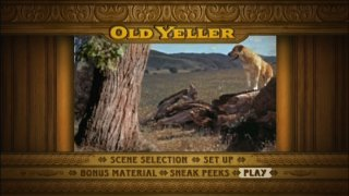 Old Yeller Main Menu