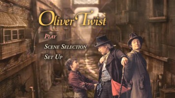 Oliver Twist DVD Main Menu