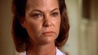 As Big Nurse Ratched, Louise Fletcher mastered the cold blank stare and won a Best Actress Oscar for it.