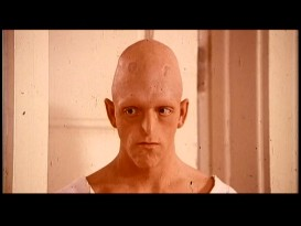"The distinctive Michael Berryman, later known for ""The Hills Have Eyes"" but just 26 years old here, appears in a couple of deleted scenes as the lobotomized Ellis."