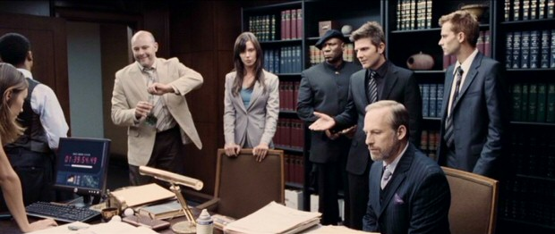 Alpha and Omega agents (including Rob Corddry, Odette Yustman, Ving Rhames, Adam Scott, Bob Odenkirk, and Joe Anderson) try to make sense of their boss' murder and the Project Endgame that threatens to wipe them all out.