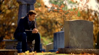 Nick Garrett (Bryan Greenberg) consoles with his deceased mother, the only resident of Knights Ridge with her act together.