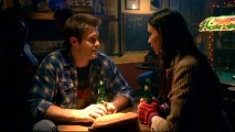 Eddie (Geoff Stults) wishes to woo Aubrey (Odette Yustman) in order to make Nick jealous, but apparently he needs the aid of alcoholic beverages to get the job done.