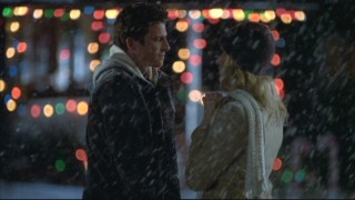 A Christmas episode just isn't the same without a romantic scene out in the snow.