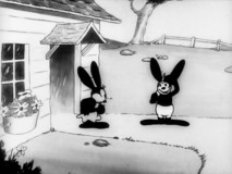 "Oswald reports to his gal one last time before shipping off to the war in ""Great Guns!"""