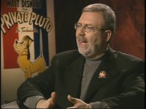 Leonard Maltin is host and interviewer to the set