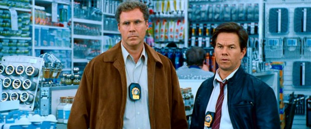 "They may be in Bed Bath & Beyond, but Gamble (Will Ferrell) and Hoitz (Mark Wahlberg) are all business as they renew their determination to uncover white collar corruption in #84, ""The Other Guys."""
