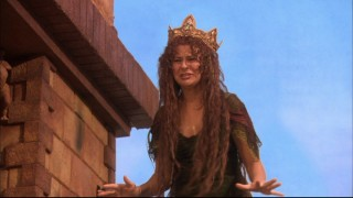 Princess Winnifred (Tracey Ullman) makes quite the entrance, having just swum the royal moat.