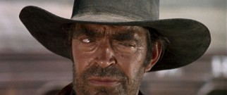 This glare and a couple of additional Jack Elam expressions are the extent of the Restored Version's unearthed footage.