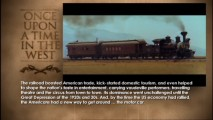 """Railroad: Revolutionising the West"" tackles trains and the film, letting you read along with narration."