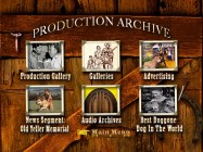 The Old Yeller Production Archive Menu