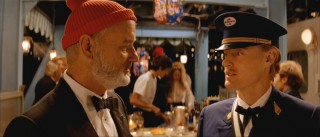 Steve (Bill Murray) is approached by Ned Plimpton (Owen Wilson), an Air Kentucky pilot who claims to be the oceanographer's son.