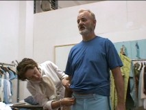 "Bill Murray gets fitted in the ""Costumes"" featurette."