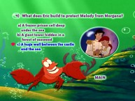 The Little Mermaid II Trivia Game: C) The answer that's just stupid enough to be right.