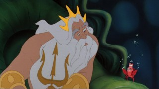 King Triton turns to his trusted confidant Sebastian to help keep an eye on his daughter.