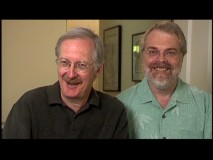 "Writer-directors John Musker and Ron Clements appear in the documentary ""Treasures Untold: The Making of 'The Little Mermaid'."""