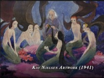 """The Story Behind the Story"" showcases artwork from Kay Nielsen's proposed treatment for a ""Little Mermaid"" Disney short in the 1940s."