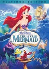 """The Little Mermaid"" Platinum Edition DVD cover art"