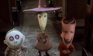 "Barrel, Shock, and Lock are the three troublesome youths Jack enlists to kidnap ""Sandy Claws."""