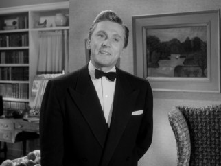 A sharp-dressed (or is that sharply-dressed?) Kirk Douglas delivers an impassioned rant against the quality of radio programs.