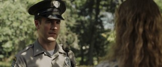 James Van der Beek plays Officer Treadwell, an overly helpful cop who puts the Wheelers on edge.