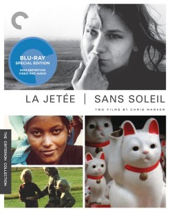 La Jet�e (1962) and Sans Soleil (1983): Criterion Collection Blu-ray cover art -- click for larger view and to buy from Amazon.com
