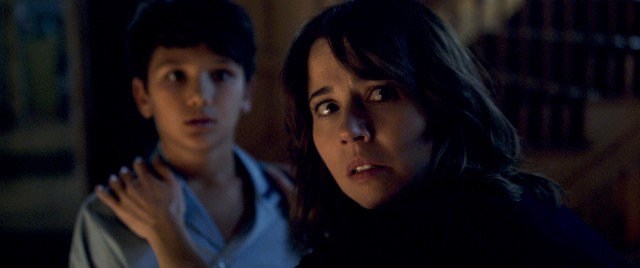 "Widowed social worker Anna Tate-Garcia (Linda Cardellini) has her hands full in ""The Curse of La Llorona."""