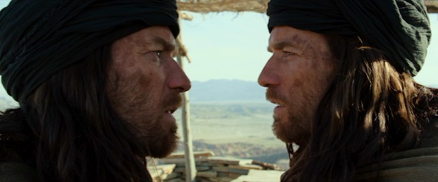 """Last Days in the Desert"" will have you seeing double when Yeshua (Ewan McGregor) and the Demon (also Ewan McGregor) interact."