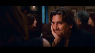 In light of the lack of bonus features, enjoy this shot of Griffin Dunne listening attentively.