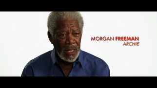 Morgan Freeman discusses being part of a legendary cast in a couple of making-of featurettes.