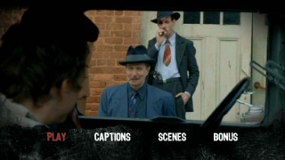 Gary Oldman and Noah Taylor make a brief appearance in the DVD's main menu montage.