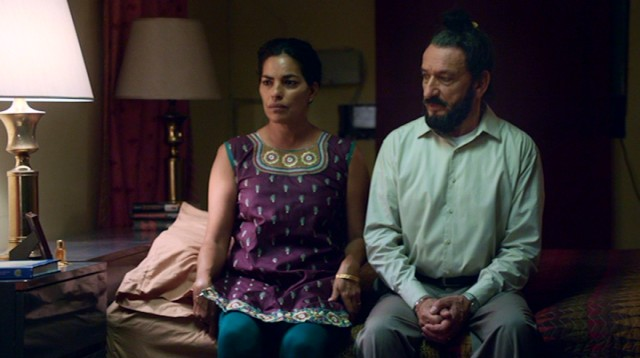 Things are quite chilly between Darwan Singh Tur (Ben Kingsley) and Jasleen (Sarita Choudhury), his new bride by arranged marriage.