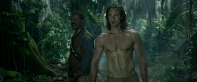 "In ""The Legend of Tarzan"", Tarzan (Alexander Skarsgård) returns to Africa with a wise-cracking American Civil War veteran (Samuel L. Jackson) by his side."