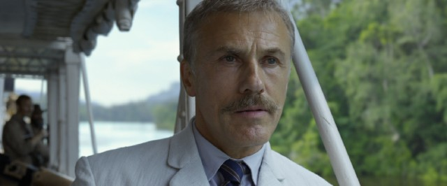 Christoph Waltz adds to his rogues gallery by playing the rosary-swinging villain Leon Rom.