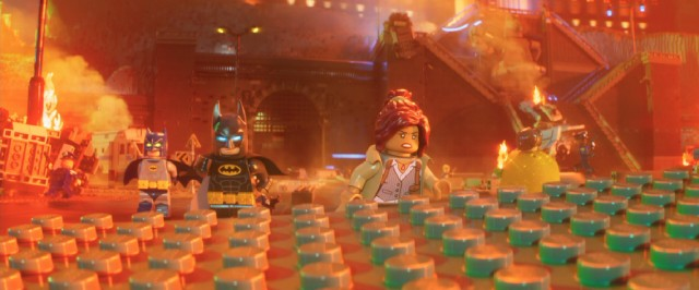 "Batman learns to stop worrying and let his new family help out in ""The Lego Batman Movie."""