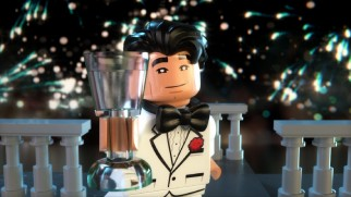 "Bruce Wayne channels Baz Luhrmann's Jay Gatsby in this New Year's-themed promo ""Batsby's New Year."""