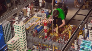 "The Blu-ray exclusive ""Dream Job: Meet the Lego Builders"" shows us how master builders contributed production design for the film's live-action sequences."