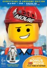 The LEGO Movie Blu-ray + DVD + Digital HD UltraViolet combo pack cover art -- click to read the press release.
