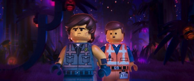 "In ""The Lego Movie 2"", Emmet is saved by a hunky intergalactic adventurer named Rex Dangervest."