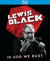 Lewis Black: In God We Rust (2012) Blu-ray cover art -- click to buy from Amazon.com