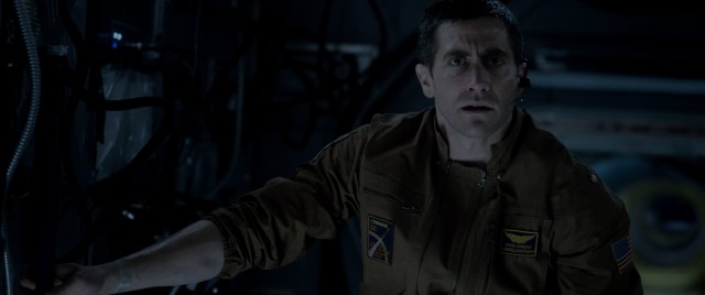 "Top-billed Jake Gyllenhaal plays one of six International Space Station members on a remarkable mission back from Mars in the sci-fi thriller ""Life."""