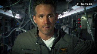 "Rory Adams (Ryan Reynolds) provides a light-hearted contribution to ""Astronaut Diaries."""