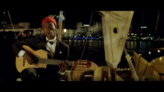 Seu Jorge's Portuguese language covers of ten David Bowie songs are presented in full.