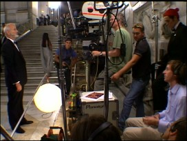 "A more conventional making-of featurette is found in an episode of ""Starz: On the Set."""
