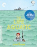 The Life Aquatic with Steve Zissou: The Criterion Collection Blu-ray Disc cover art -- click to buy from Amazon.com