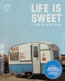Life Is Sweet: The Criterion Collection Blu-ray cover art -- click to buy from Amazon.com